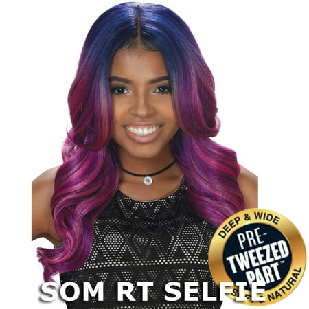 Sis Royal Pre-Tweezed Part Swiss Lace Front Wig - NOVA (4 Medium -