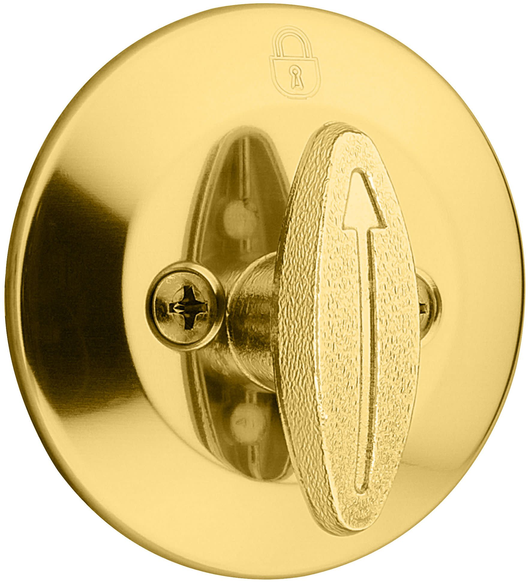 Kwikset 663 Security Series One Sided Deadbolt without Back Plate