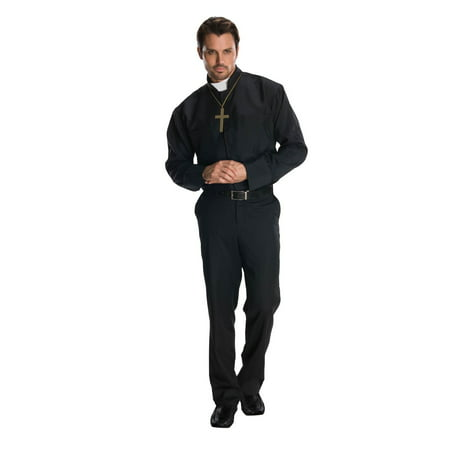 Halloween Priest Costume (Mens Priest Halloween Costume)