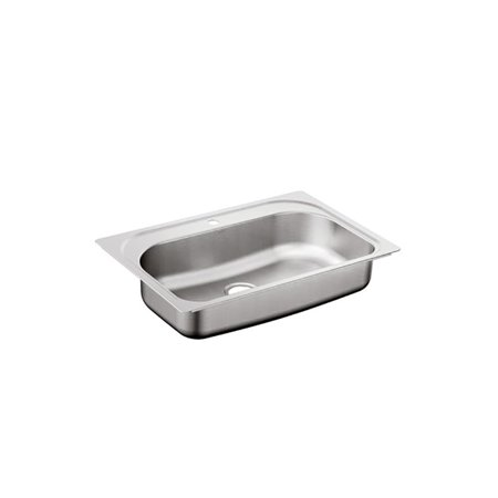 Drop In Single Bowl - Moen  1800 Series 33