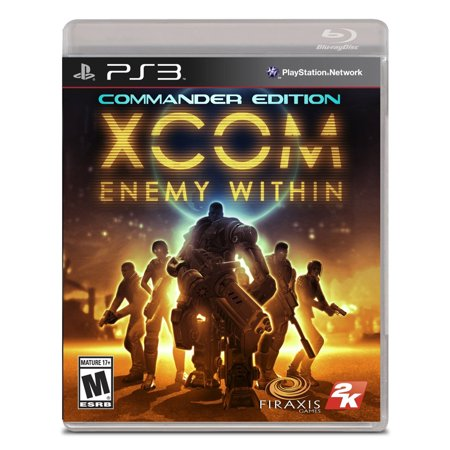 XCOM: Enemy Within Commander Edition PlayStation (Xcom Enemy Unknown Best Weapons)