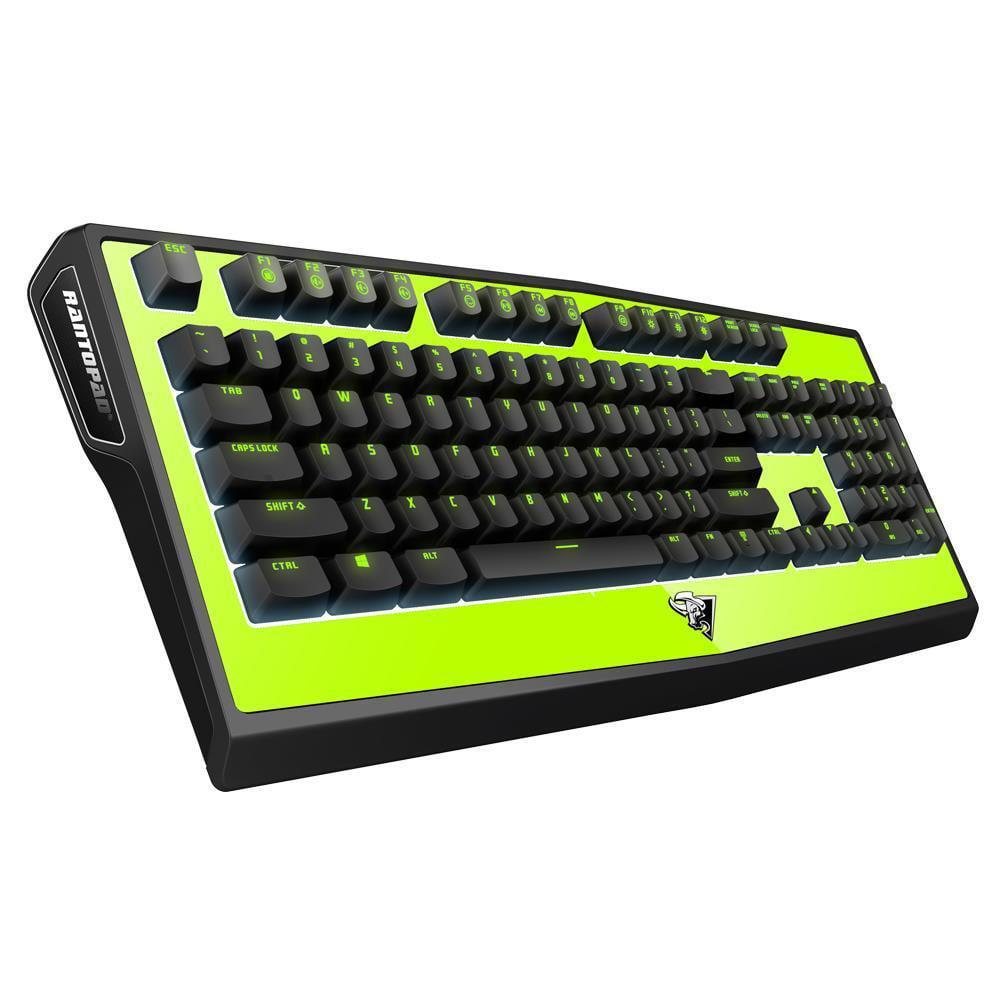 Rantopad MT Aegis Gaming Mechanical Ergonomic LED Light USB Wired Keyboard