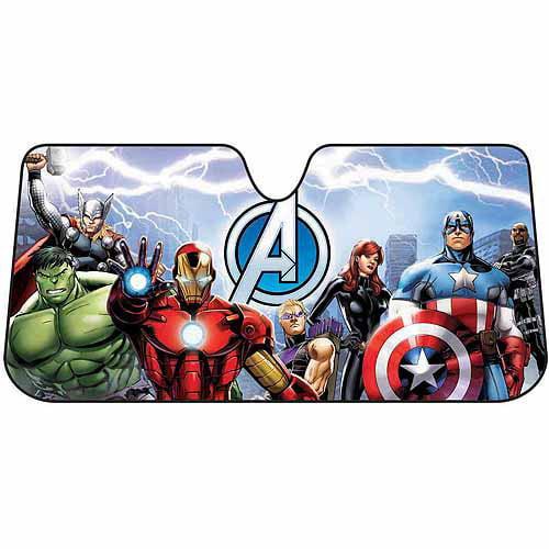 Plasticolor Sunshade, Marvel Avengers