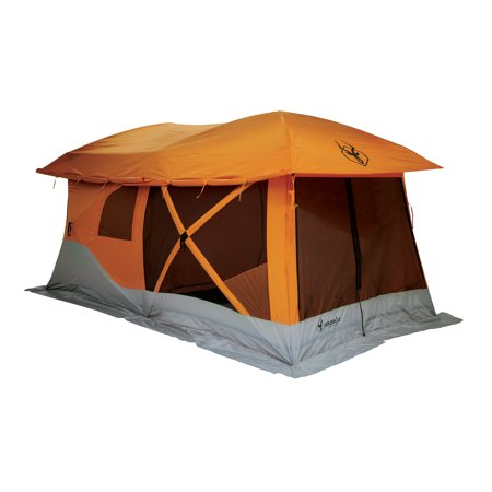 Gazelle T4 Plus Pop-up Hub Camping Text (8-Person)