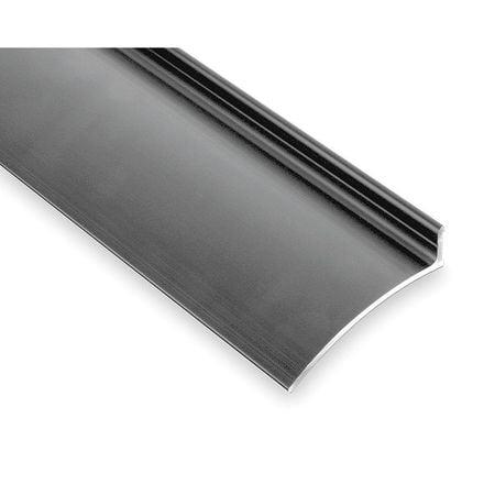 PEMKO 346C76 Drip Door Edge, Clear Anodized, 76 In