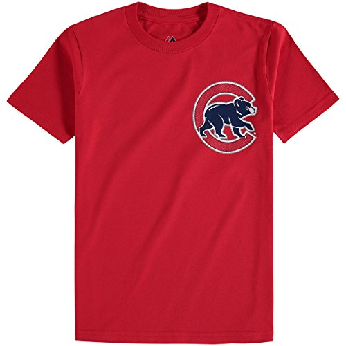 Anthony Rizzo Chicago Cubs #44 Youth Alternate Name & Number T-Shirt - Red (Youth Medium 10/12)