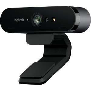 Logitech 960-001105 Brio 4K Pro Webcam (Brown Box) by Logitech