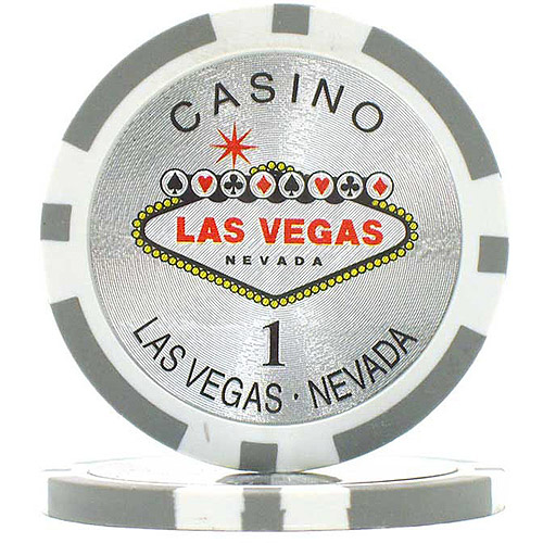 15-Gram Clay Laser Las Vegas Chips