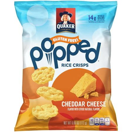 Quaker Cheddar Cheese Mini Rice Cakes