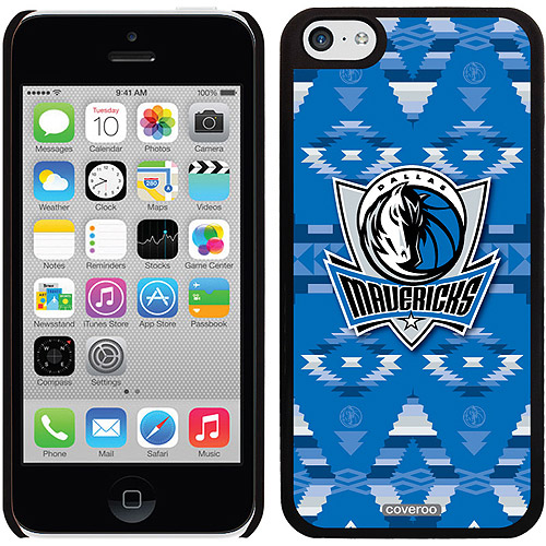 Dallas Mavericks Tribal Print Design on Apple iPhone 5c Thinshield Snap-On Case by Coveroo
