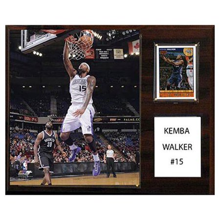 CandICollectables 1215KEMWALKER NBA 12 x 15 inch Kemba Walker Charlotte Bobcats Player Plaque by