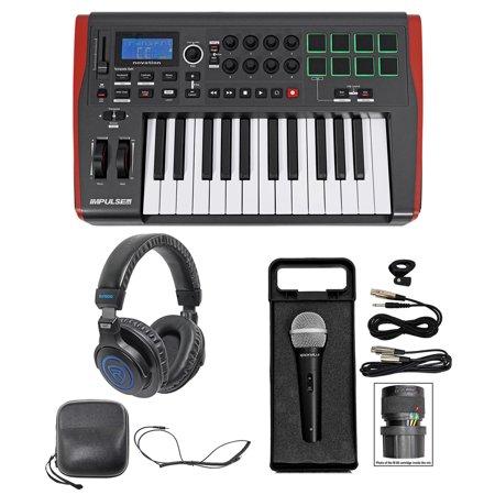 Novation IMPULSE 25 Ableton Live 25-Key USB Keyboard