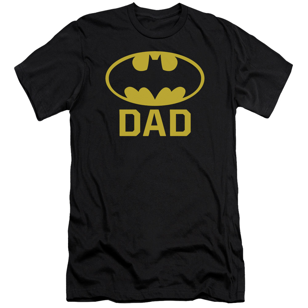 Batman Bat Dad Mens Slim Fit Shirt by Trevco