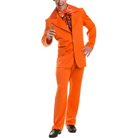 Dumber And Dumber Costumes (Mens Dumb And Dumber Orange Tuxedo With Jacket Pants Cumberbun)