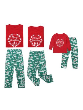 d3a6b1f84c3 Product Image Merry Christmas - Santa Claus   Reindeer Family Matching  Pajama Sets Sleepwear for Dad