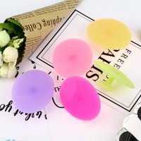 〖Follure〗5 PCS Silicone Beauty Wash Pad Face Exfoliating Blackhead Facial Cleansing Brush
