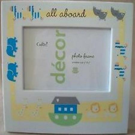 Cudlie Decor All Aboard Nursery Gift 3x5 Photo Frame Walmart