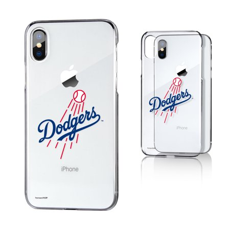 LA Dodgers Dodgers Insignia Clear Case for iPhone