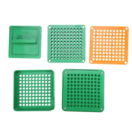 Garosa Capsule Filling Machine,Empty Capsule Plates With Spreader 100 Holes Powder Cosmetics Capsules Manual Filling - image 4 de 9