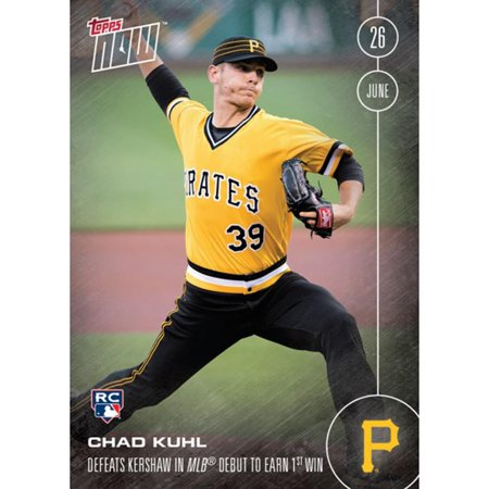 Mlb 2016 Topps Now Card 185 Pittsburgh Pirates Chad Kuhl Rc Trading Card