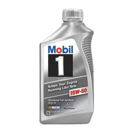 Mobil 103537 Engine Oil 1 Qt Sae Grade 15w 50