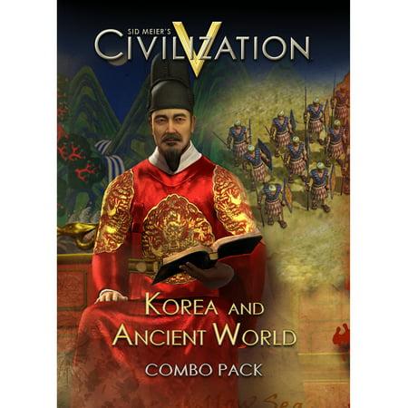 Sid Meier's Civilization V : Korea and Ancient World Combo Pack [Digital (Civ V Wonders Of The Ancient World)