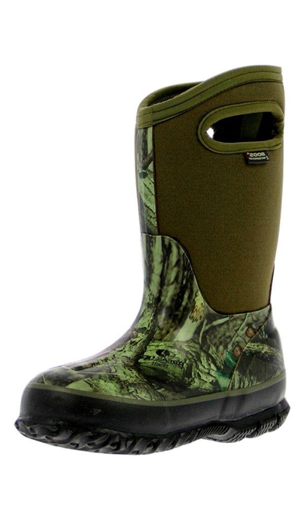 Bogs Boots Boys Kids Classic Waterproof 7 Youth Mossy Oak 71650A by Bogs