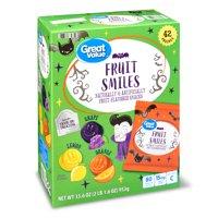 Great Value Gv Halloween Fruit Smiles 42 Ct