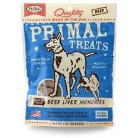 Primal Pet Foods Beef Liver Munchies Freeze-Dried Dog & Cat Treats, 2 oz