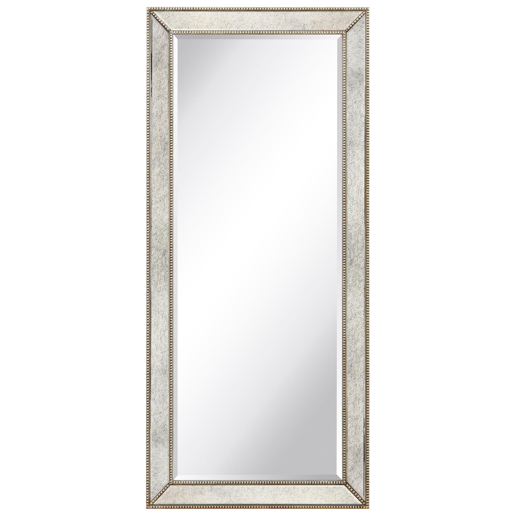 Empire Art Direct Champagne Bead Beveled Mirror 24 X 54 Ready To Hang Walmart Com Walmart Com [ 2048 x 2048 Pixel ]