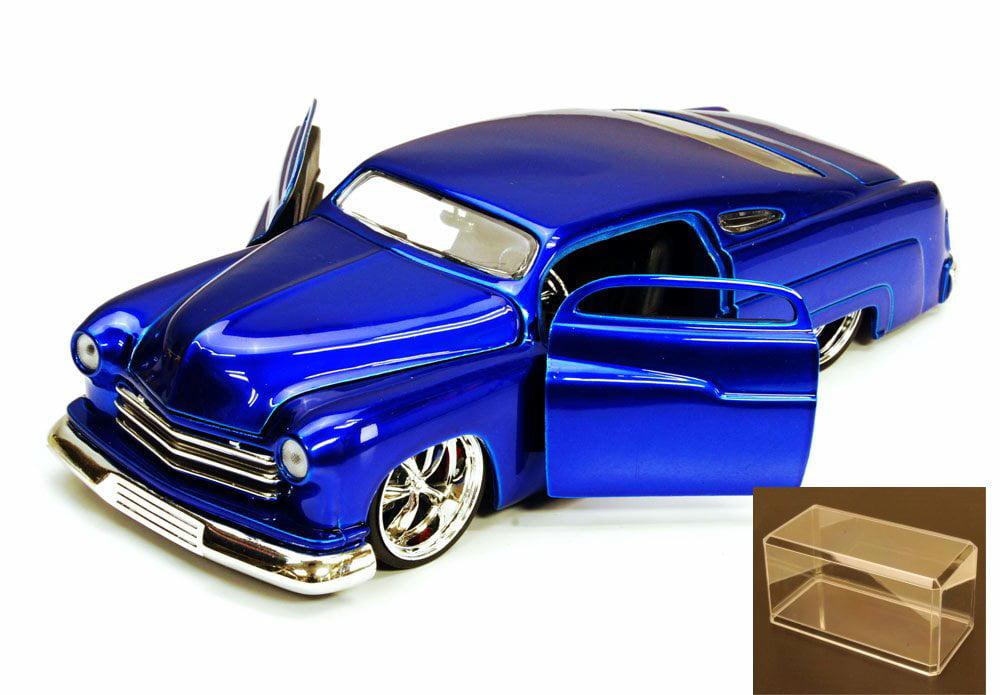 Diecast Car & Accessory Package 1951 Mercury, Blue Jada Toys Bigtime Kustoms 91740 1 24... by Jada