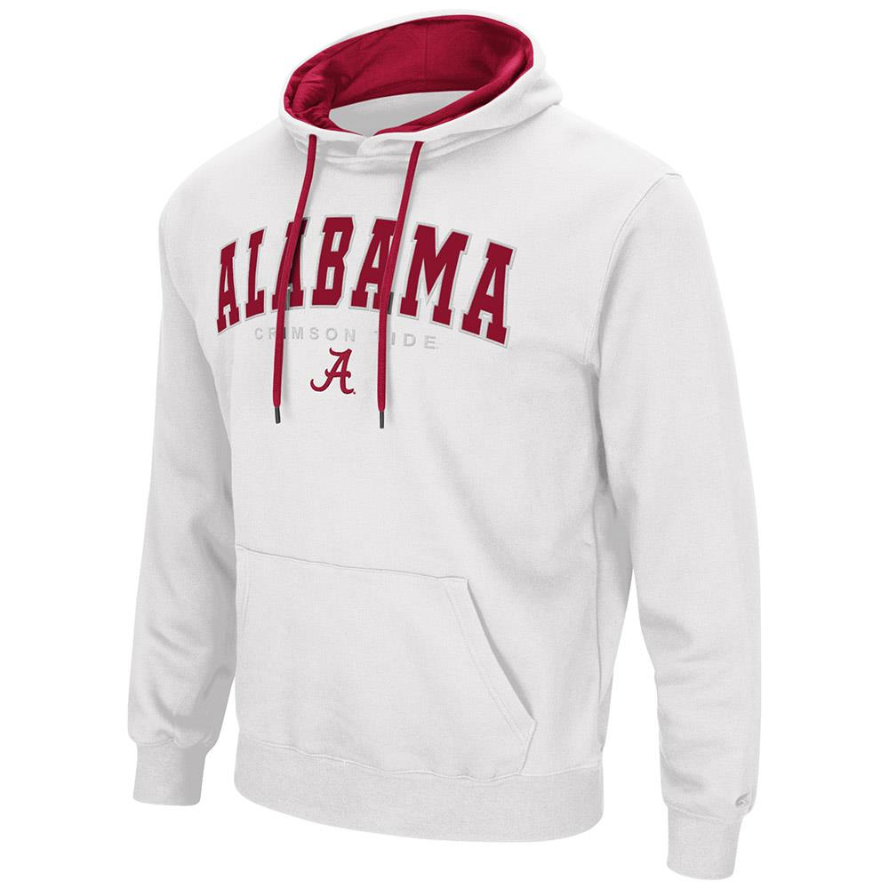 Mens Alabama Crimson Tide Pull-over Hoodie by Colosseum
