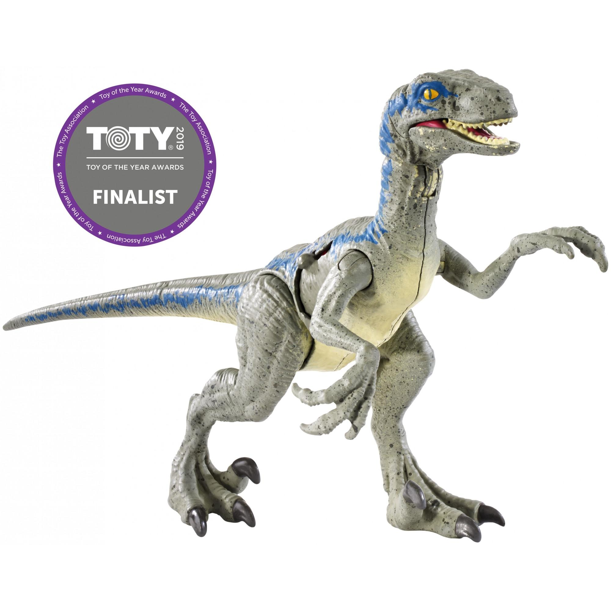 "Jurassic World Battle Damage Velociraptor ""Blue"""