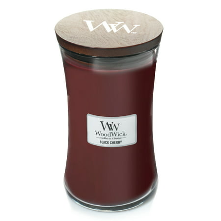 WoodWick Black Cherry - Large Hourglass Candle