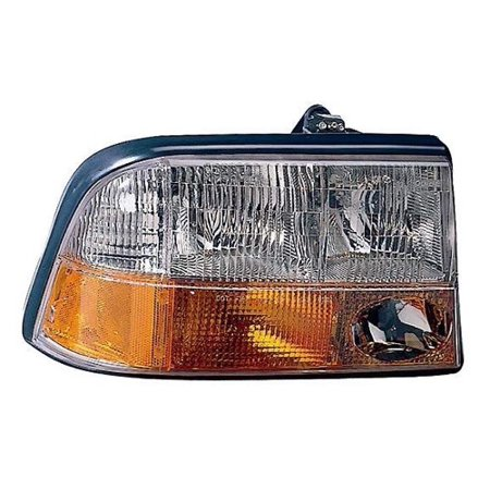 Go-Parts » 1998 - 2004 Oldsmobile Bravada Front Headlight Headlamp Assembly Front Housing / Lens / Cover - Left (Driver) Side 16526225 GM2502173 Replacement For Oldsmobile Bravada