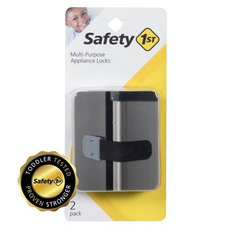 - Safety 1st Multi-Purpose Strap Appliance Lock, Black