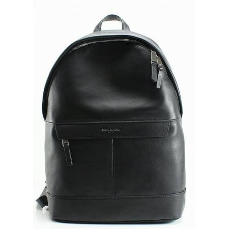 e86db1789aba MICHAEL KORS NEW Black Pebble Leather Odin Resina Men's Backpack Bag -  Walmart.com