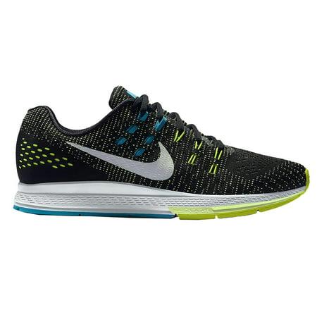 Nike Men's Zoom Structure 19 (Wide) Running Shoes-Blk/Volt/Blue