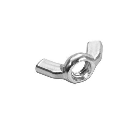 M6 Wing Nuts, Carbon Steel Hand Twist Tighten Ear Butterfly Nut, 30 Pcs - image 1 de 1