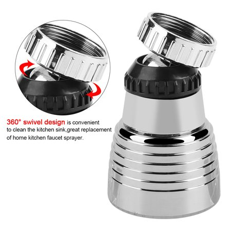 360 Swivel 3colors Temperature Controlled Led Light Kitchen Sink