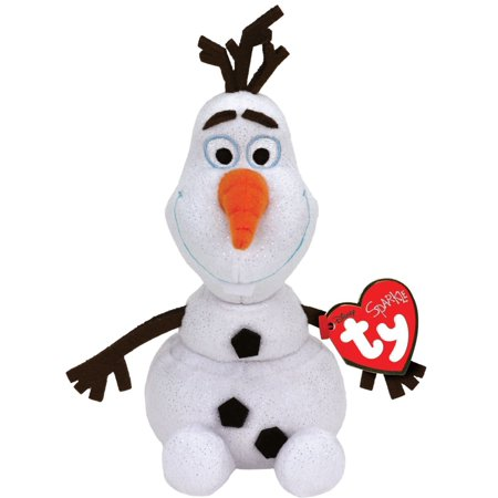 Cp Ty Beanie Babies Frozen Olaf the Snowman Sparkle Plush Stuffed Animal Plush 8