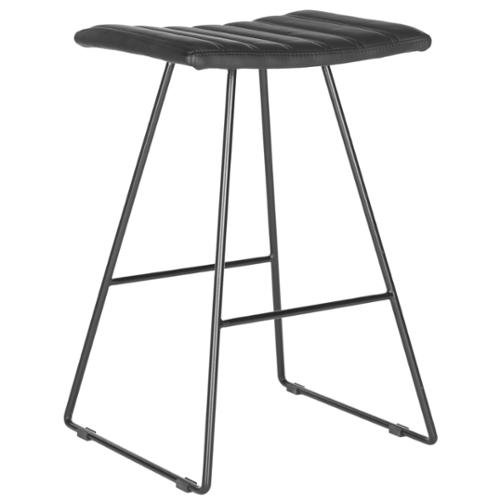 Awesome Safavieh 26 8 Inch Akito Black Counter Stool Set Of 2 Cjindustries Chair Design For Home Cjindustriesco