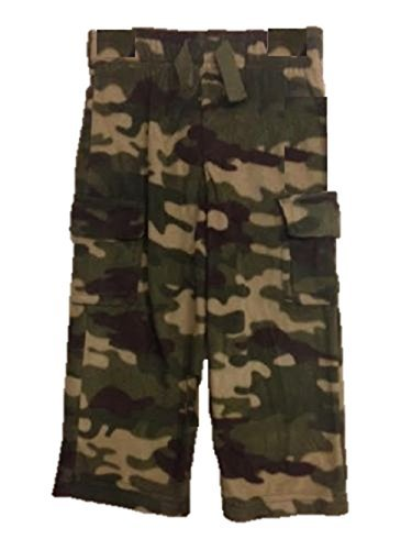 Toddler Boys Fleece Pants (3t, Camo)