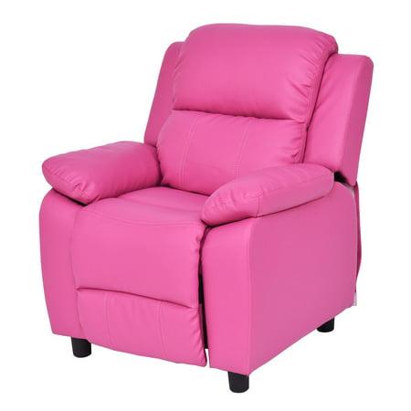 Goplus New Kids Recliner Sofa Armrest Chair Couch Lounge Children ...