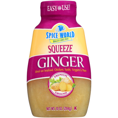 Spice World Squeeze Ginger, 9.5 oz