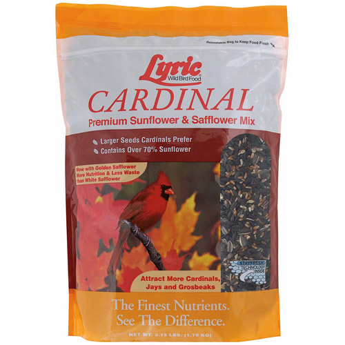 Lyric 3.75 lbs Cardinal Premium Sunflower and Safflower Mix