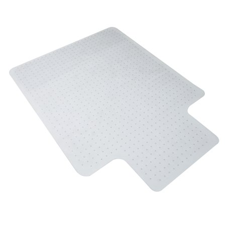 "Essentials by OFM ESS-8800C 36"" x 48"" Chair Mat with Lip for Carpet"