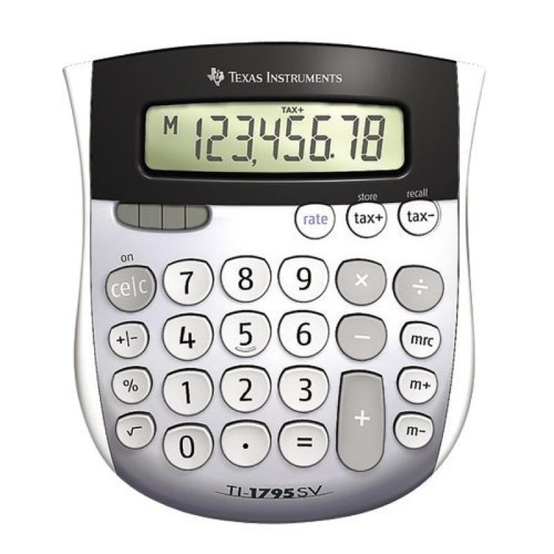 Texas Instruments TI-1795 SV Standard Function Calculator (2-Pack)