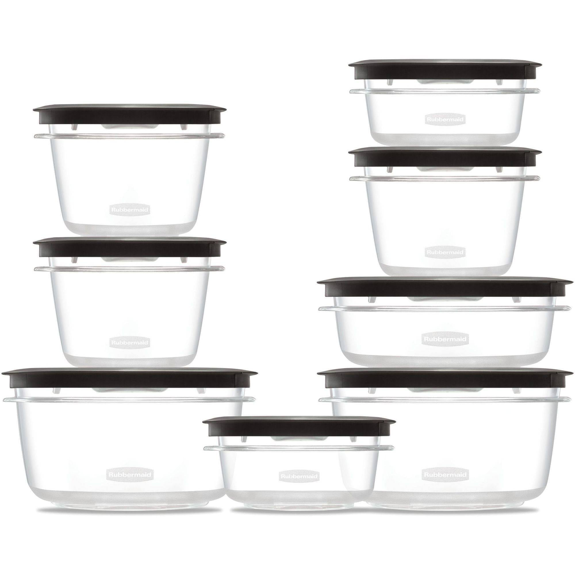 Rubbermaid Premier Easy Find Lids Meal Prep And Food