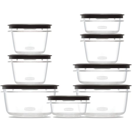Rubbermaid Premier Food Storage Containers with Easy Find Lids, 16-Piece Set - Easy Halloween Food